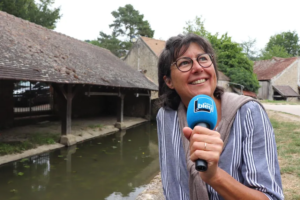 interview avec radio france bleu à chevreuse